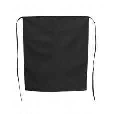 5508 Liberty Bags Café Bistro Apron - Black