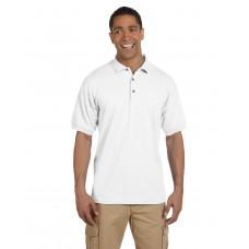 G380 Gildan Adult Ultra Cotton® Adult Piqué Polo - White