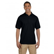 G380 Gildan Adult Ultra Cotton® Adult Piqué Polo - Black