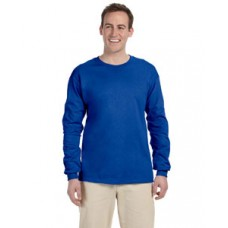 G240 Prime Plus Gildan Adult Ultra Cotton Long Sleeve T-Shirt - Royal Blue